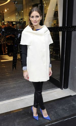 Olivia Palermo Beauty Bazaar opens at Harvey Nichols, Liverpool, Britain -