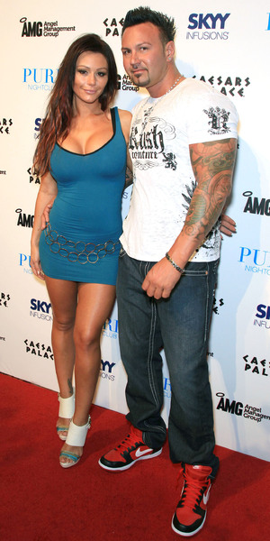 'Jenni Farley, aka 'JWOWW' and Roger Mathews 'Jenni Farley, aka 'JWOWW' hosts a night out at Pure nightclub inside Caesars Palace Las Vegas, Nevada - 26.08.11 Mandatory Credit: Judy Eddy/WENN.com