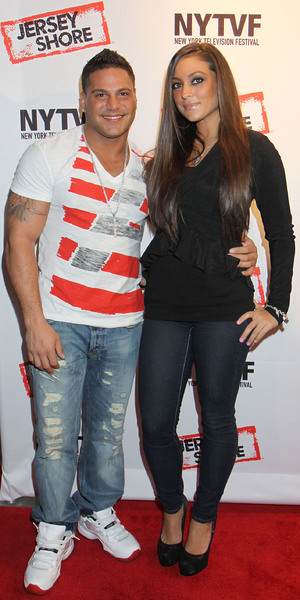 "Ronnie Ortiz-Magro and  Sammi Giancola ""Love, Loss, (Gym, Tan) and Laundry: A Farewell To The Jersey Shore"" - 2012 New York Television Festival at 92Y Tribeca New York City, USA - 24.10.12 **Not Available for the New York Daily News. Available for the Rest of the World** Mandatory Credit: Michael Carpenter/ WENN.com"