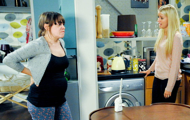 Emmerdale, Gennie and Katie argue over Chas, Wed 7 Nov 2012