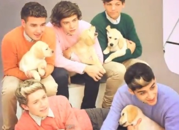 One Direction behind the scenes at Wonderland magazine