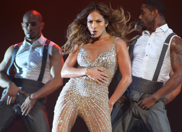 Jennifer Lopez performing at Ahoy in Rotterdam Rotterdam, Holland - 29.10.12 Mandatory Credit: Anneke Ruys/WENN.com
