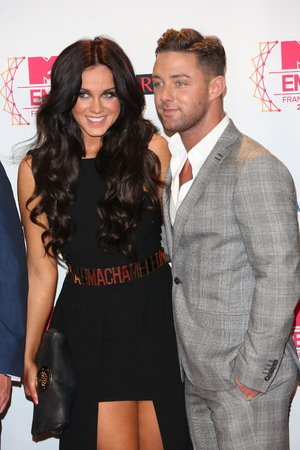 Vicky Pattison, and Gaz Beadle of Geordie Shore The MTV EMA's 2012 held at Festhalle - press room Frankfurt, Germany - 11.11.12Mandatory Credit: Lia Toby/WENN.com