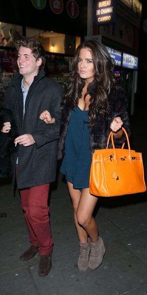 Made in Chelsea star, Binky real name Alexandra Felstead at Boujis nightclub London, England - 11.11.12 Mandatory Credit: Ratello/WENN.com