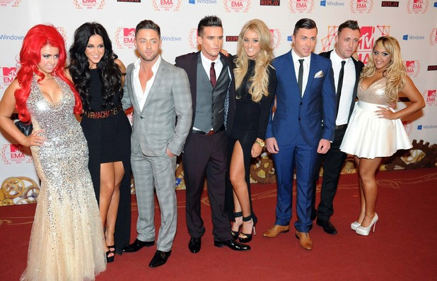 Geordie Shore Cast 19th MTV Europe Music Awards - Press Room Frankfurt, Germany - 11.11.12 Credit (Mandatory):WENN.com