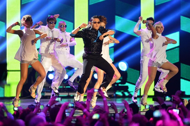 Psy The MTV EMA's 2012 held at Festhalle - Show Frankfurt, Germany - 11.11.12 **Only available for publication in the UK, USA, Germany, Austria and Switzerland. Not available for the rest of the world ** Mandatory Credit: Newspix.pl/WENN.com
