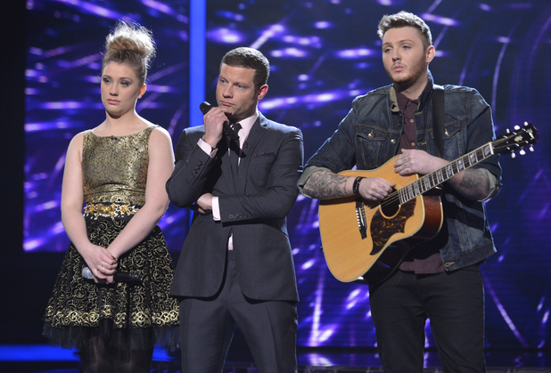 The X Factor: Dermot, Ella and James