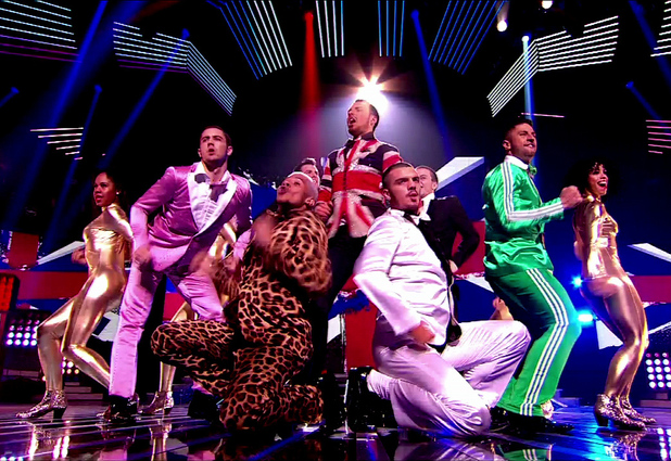 Rylan Clark performs on 'X Factor' Shown on ITV1 HD, England - 12.11.12 Supplied by WENN.com