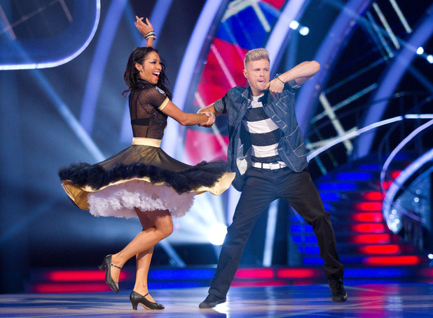 Strictly Come Dancing at Wembley: Nicky and Karen.