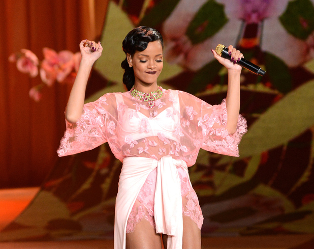 Rihanna, Victoria's Secret Fashion Show at the Lexington Avenue Armory, New York City, USA - 07.11.12 Credit: (Mandatory): Ivan Nikolov/WENN.com