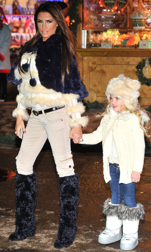Hyde Park Winter Wonderland - launch partyFeaturing: Katie Price, Princess Tiaami Where: London, England When: 22 Nov 2012 Credit: Daniel Deme/WENN.com
