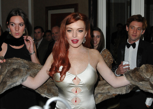 The premiere of 'Liz and Dick' at the Beverly Hills HotelFeaturing: Lindsay Lohan Where: Beverly Hills, United States When: 20 Nov 2012 Credit: Adriana M. Barraza/WENN.com