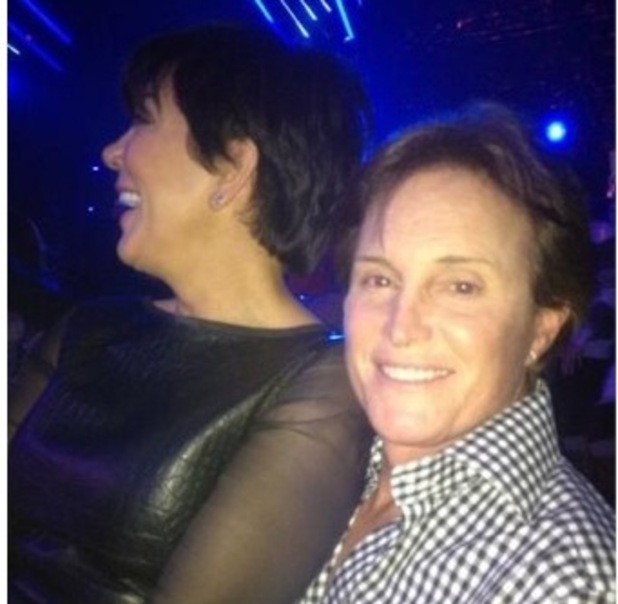 Kris Jenner, Bruce Jenner at X Factor