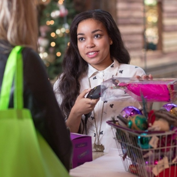 Dionne Bromfield on VIP shopping day