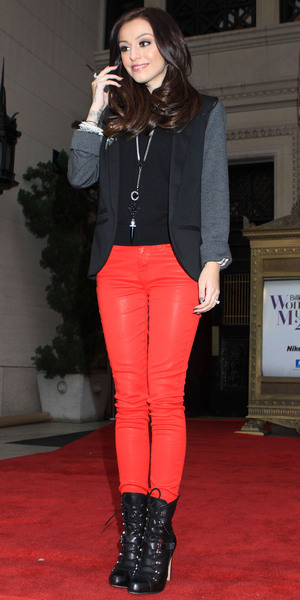 Cher Lloyd leaving the 2012 Billboard Women In Music Luncheon at Capitale New York City, USA - 30.11.12 **Not Available for the New York Daily News. Available for the Rest of the World** Mandatory Credit: Michael Carpenter/ WENN.com