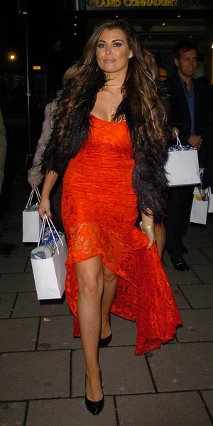Miss Mode: OK Magazine Christmas party held at Sway in Covent Garden - DeparturesFeaturing: Jessica Wright Where: London, United Kingdom When: 27 Nov 2012 Credit: WENN.com