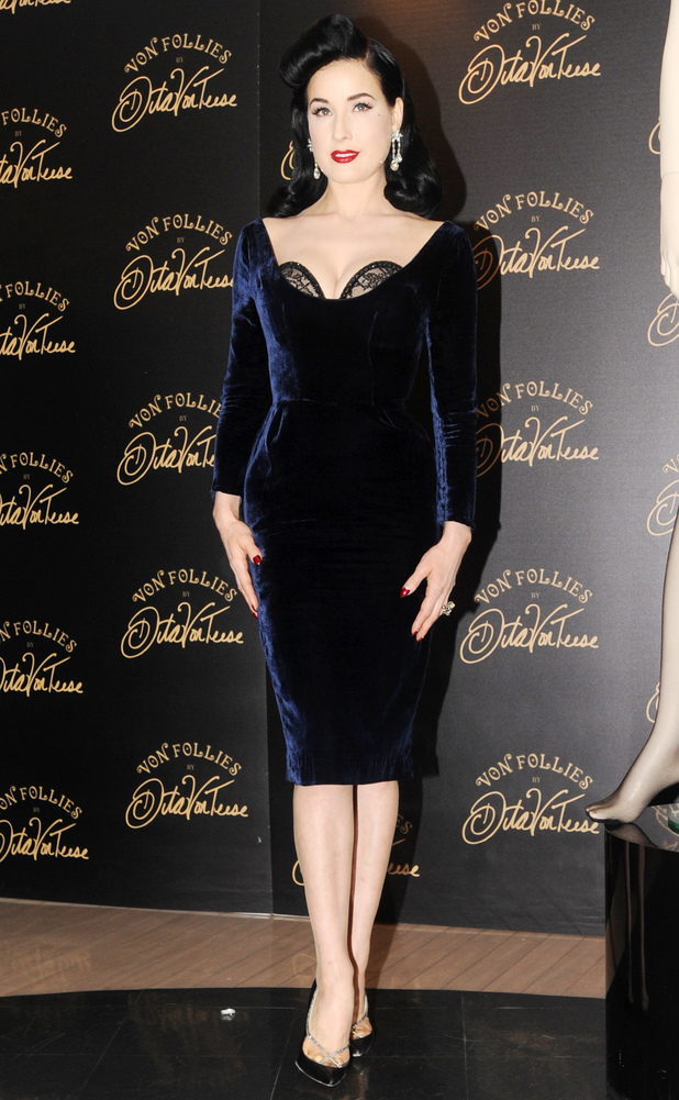 dita teese s new pictures fashion news reveal