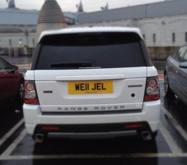 Land Rover Nj Dealers: Amy Childs Shows Off Customised License Plates