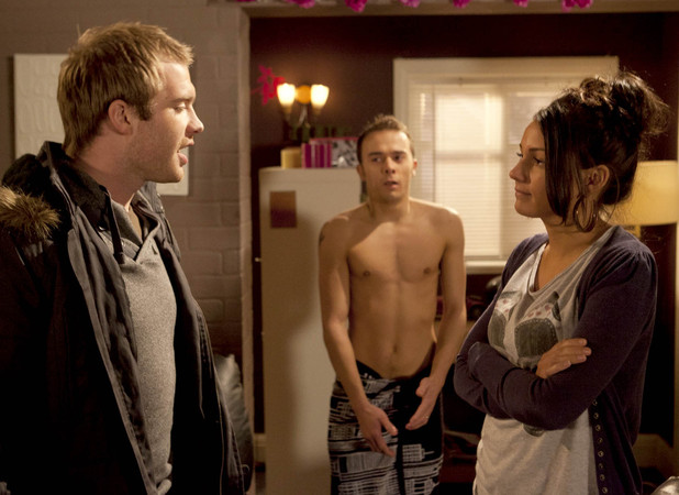 Michelle Keegan as Tina McIntrye on Coronation Street