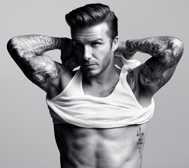 Twelve Days of Hot Men! Day Two: David Beckham in his ...