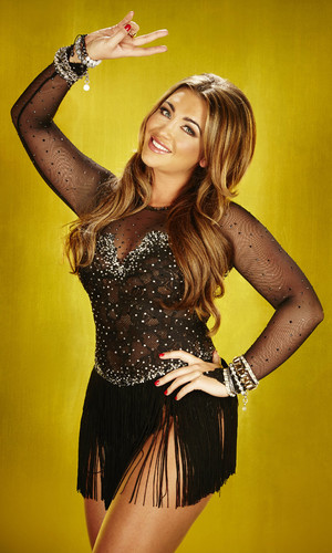 Lauren Goodger on Dancing On Ice 2013