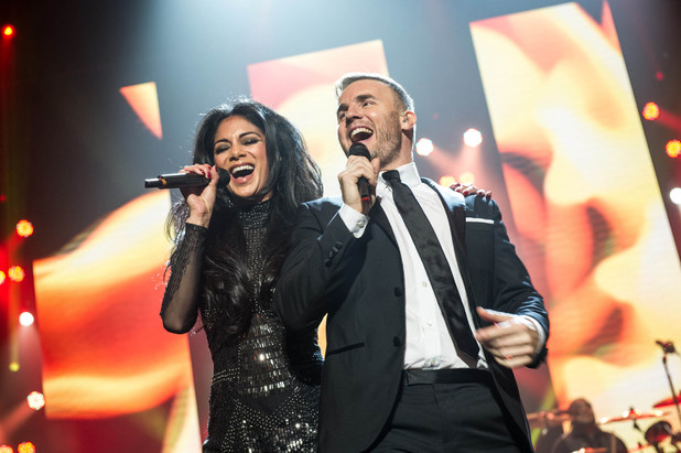 Gary Barlow and Friends, Gary and Nicole Scherzinger, Tue 1 Jan 2013