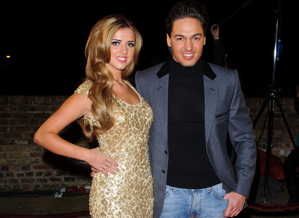 Lucy Mecklenburgh and Mario Falcone The Only Way Is Essex - LIVE episode - James Argent's Charity Show - Arrivals Essex, England - 03.12.12 Mandatory Credit: WENN.com