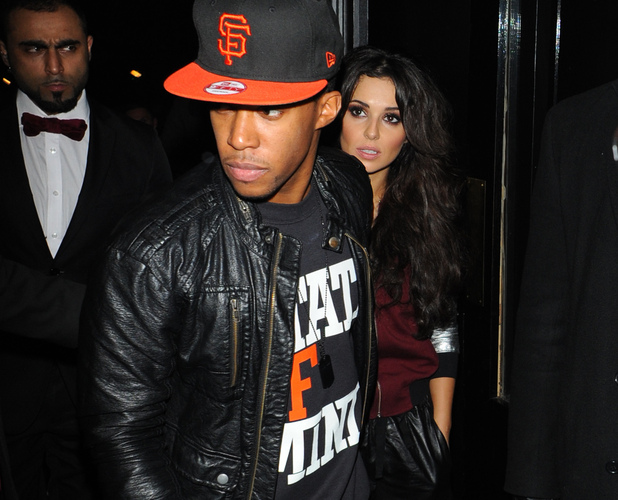 Celebrities leaving the Rose ClubFeaturing: Cheryl Cole, Tre Holloway Where: London, United Kingdom When: 21 Dec 2012 Credit: TD/WENN.com