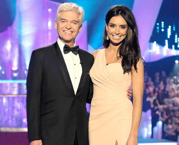 Dancing On Ice's Christine Bleakley and Phillip Schofield