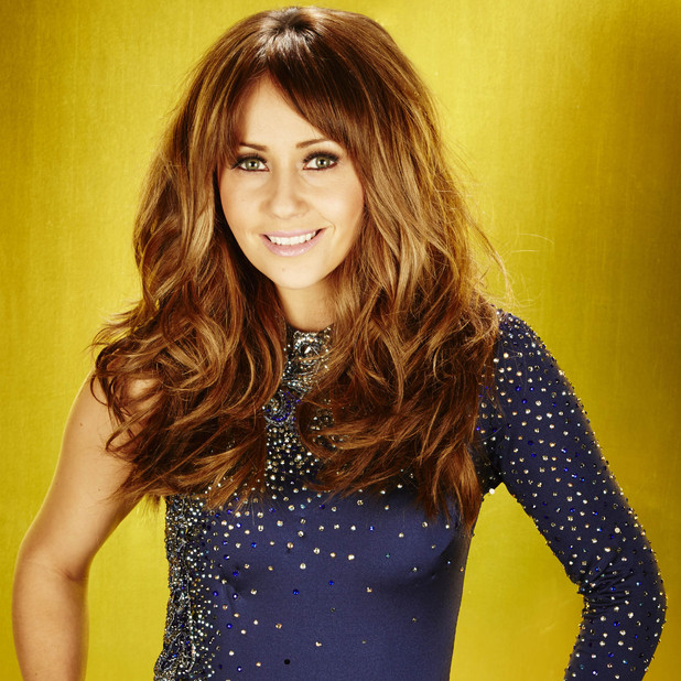 Samia Ghadie on Dancing On Ice 2013