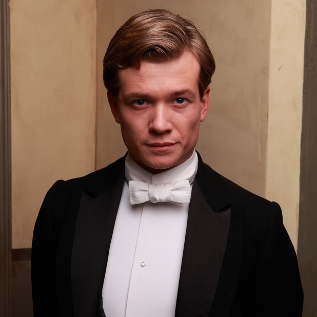 Downton Abbey's Jimmy Kent, played by Ed Speleers