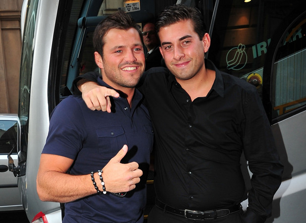 Mark Wright and James 'Arg' Argent Cast members from The Only Way Is Essex and Hollyoaks spend the night partying together in Liverpool Liverpool, England - 14.06.11 Mandatory Credit: WENN.com