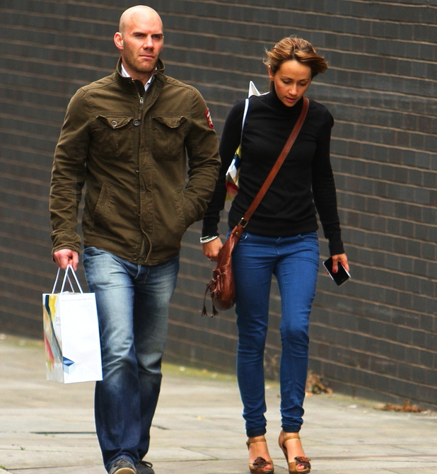 Samia Smith and Will Thorp 'Coronation Street' cast arriving at the Granada studios Manchester, England - 16.09.11 Mandatory Credit: WENN.com