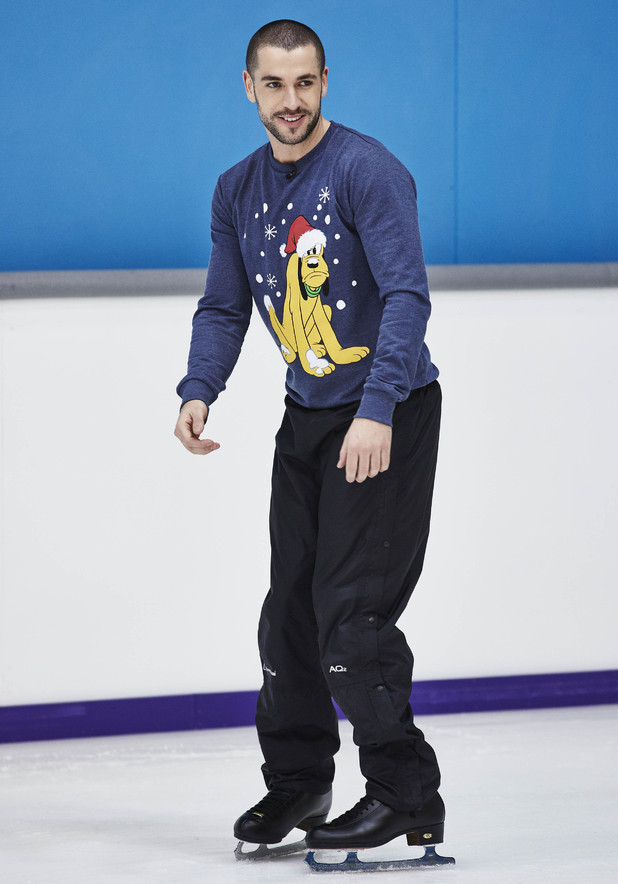 Lauren Goodger and other stars train for Dancing On Ice