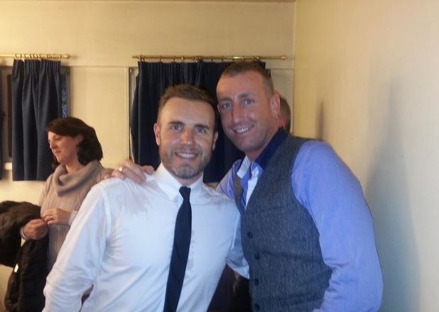 Gary Barlow and Christopher Maloney