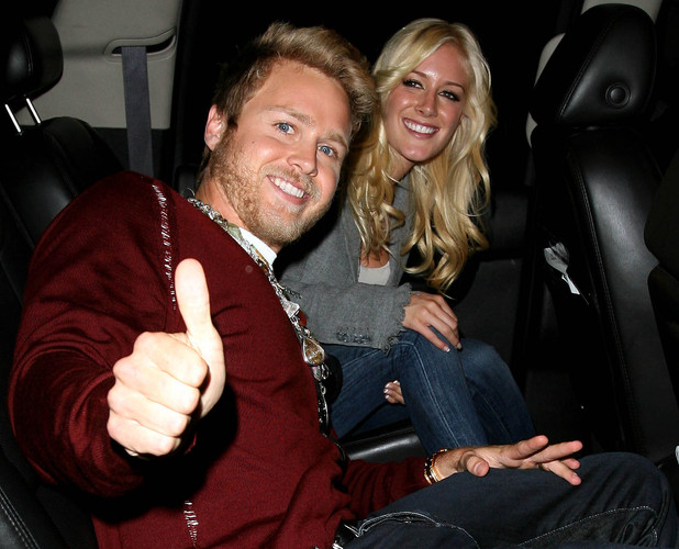 Spencer Pratt and Heidi Montag arriving at LAX after returning from New York City where Montag was a guest co-host on 'The View' Los Angeles, California - 01.10.09 Mandatory Credit: WENN.com