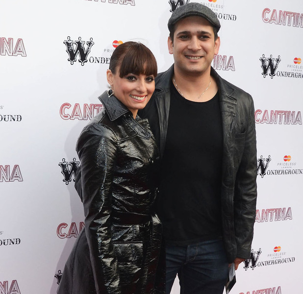 Flavia Cacace and Jimi Mistry 'Cantina' opening night at London Wonderground, Jubilee Gardens - Arrivals London, England - 21.05.12 Mandatory Credit: Chris Saxon/WENN.com