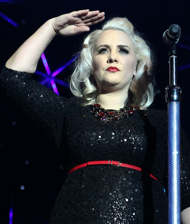 Hit Factory Live's 'Christmas Cracker' at The O2 Arena London - Performances Featuring: Claire Richards, Steps Where: London, United Kingdom When: 21 Dec 2012 Credit: WENN.com