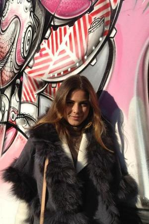 Made In Chelsea's Louise Thompson in NYC