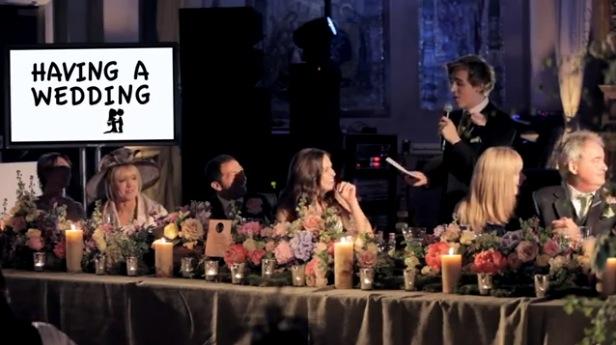 Tom Fletcher's wedding speech