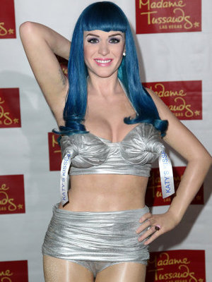 Katy Perry waxwork
