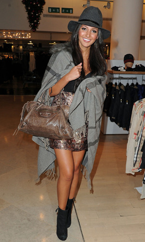 Miss Mode: Michelle Keegan attends Merabi Couture Launch Party held at Selfridges, The Trafford Centre Manchester, England - 24.10.12 Mandatory Credit: Steve Searle/WENN.com