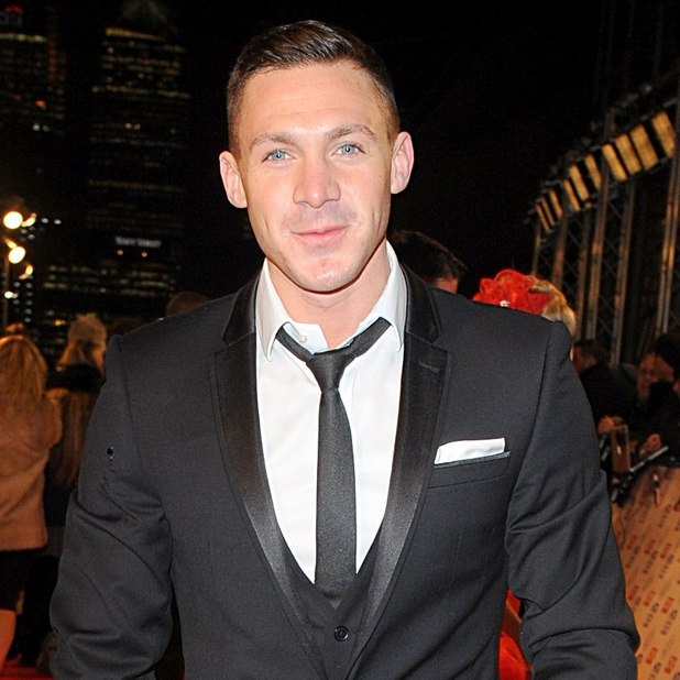 Kirk Norcross arriving for the 2013 National Television Awards at the O2 Arena, London.