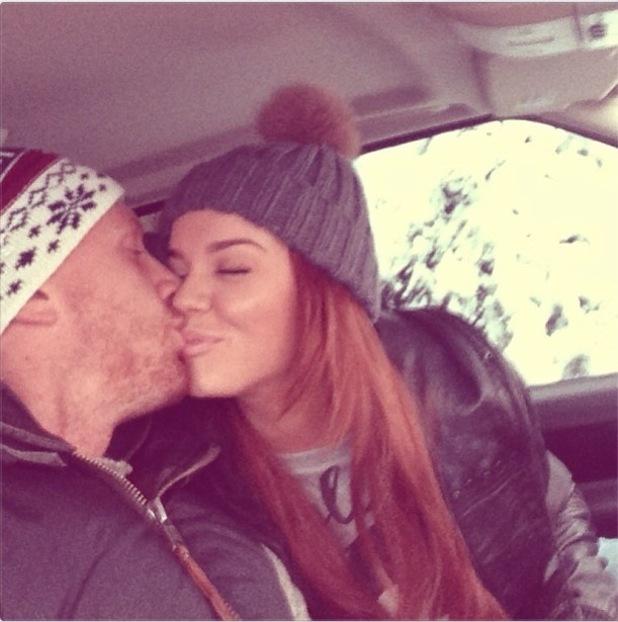 Maria Fowler Kisses Boyfriend