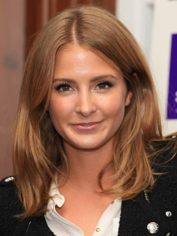 Millie Mackintosh Style For Stroke by Nick Ede - launch party held at No.5 Cavendish Square London, England - 02.10.12 Mandatory Credit: Lia Toby/WENN.com