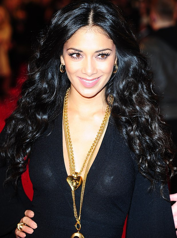 Nicole Scherzinger arriving for the 2013 National Television Awards at