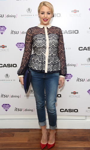 Casio Tokyo Trio Watch launch party held at the Study - Arrivals Featuring: Lydia Bright aka Lydia Rose Bright Where: London, United Kingdom When: 28 Jan 2013 Credit: Lia Toby/WENN.com