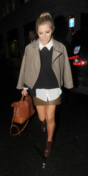 The Saturdays arrive at the BBC Radio 1 studiosFeaturing: Mollie King