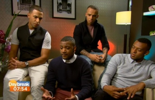JLS appear on Daybreak 1/2/13