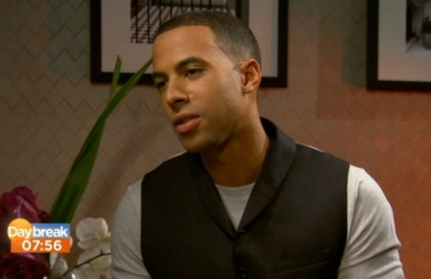 Marvin Humes appears on Daybreak 1/2/2013